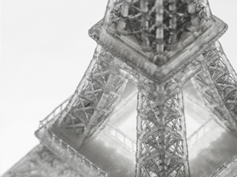 A 3D printed Eiffel Tower