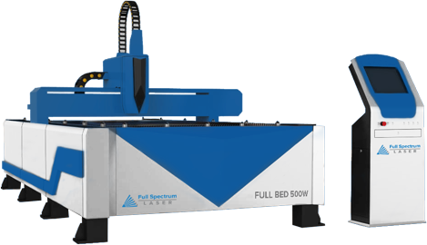 Metal Cutting Flatbed Fiber Laser
