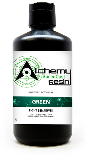 Thumbnail for 1L SpeedCast Green Resin